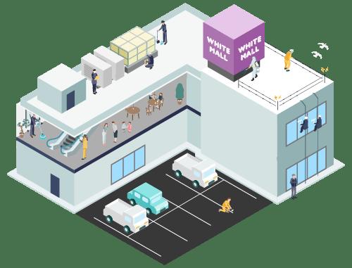 大型商業施設 イメージアイコン