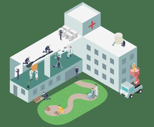 医療機関・福祉施設 イメージアイコン