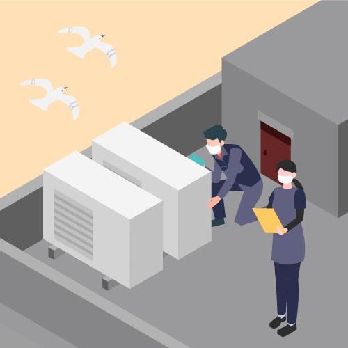 空気環境管理 イメージアイコン