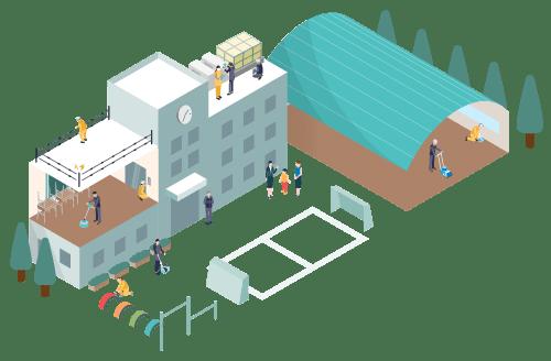 公共施設 イメージアイコン