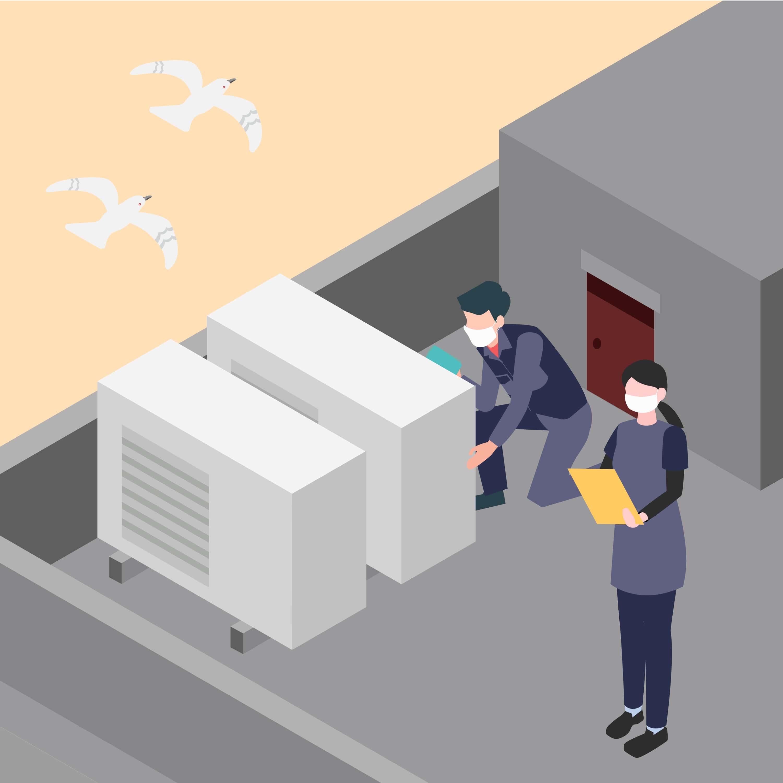 空気環境管理イメージ