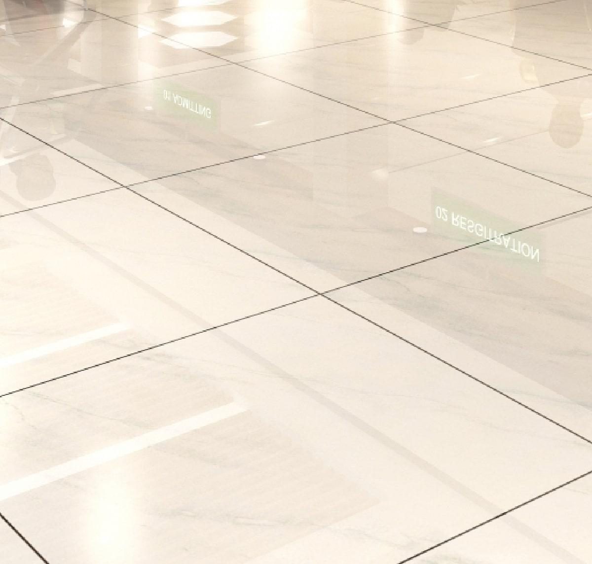 建物内部の床のイメージ