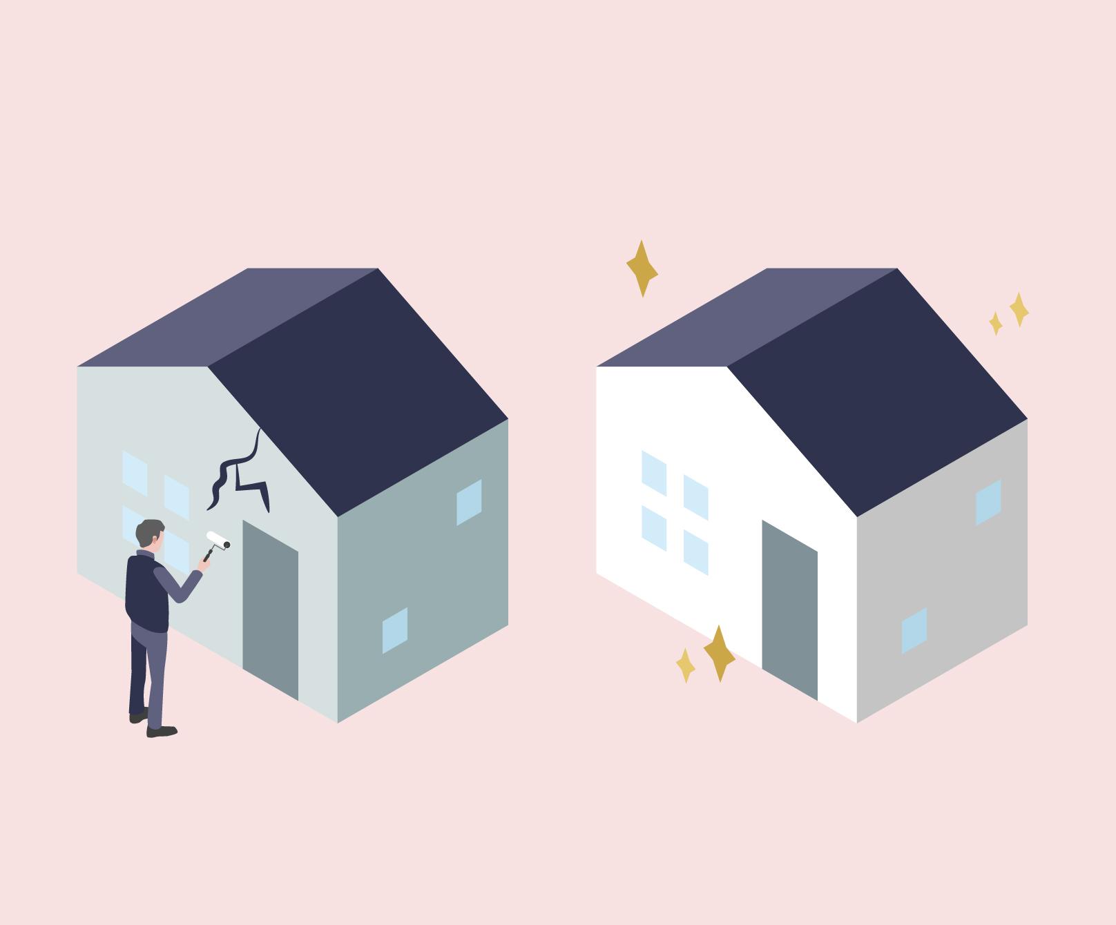 外壁工事|漏水トラブルや老朽化対策に